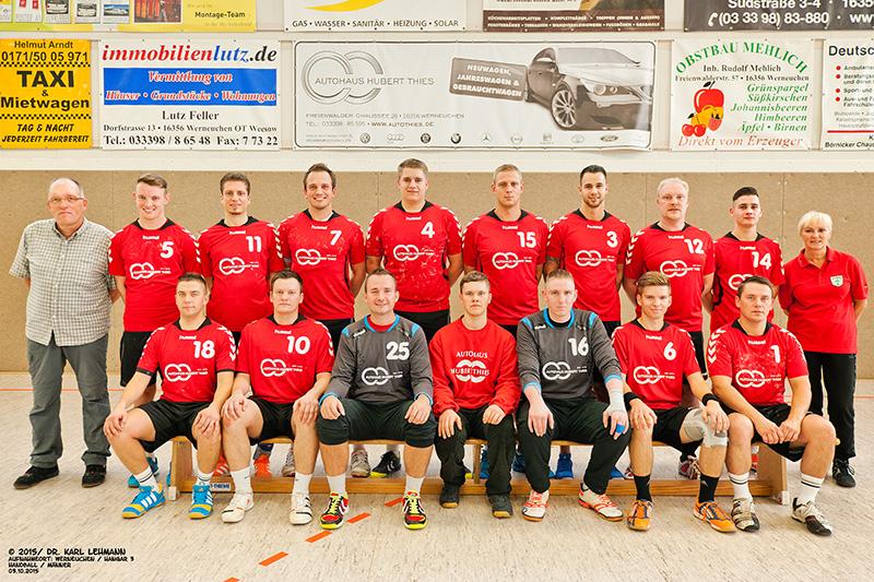 Männermannschaft   2015 / 10 / 03