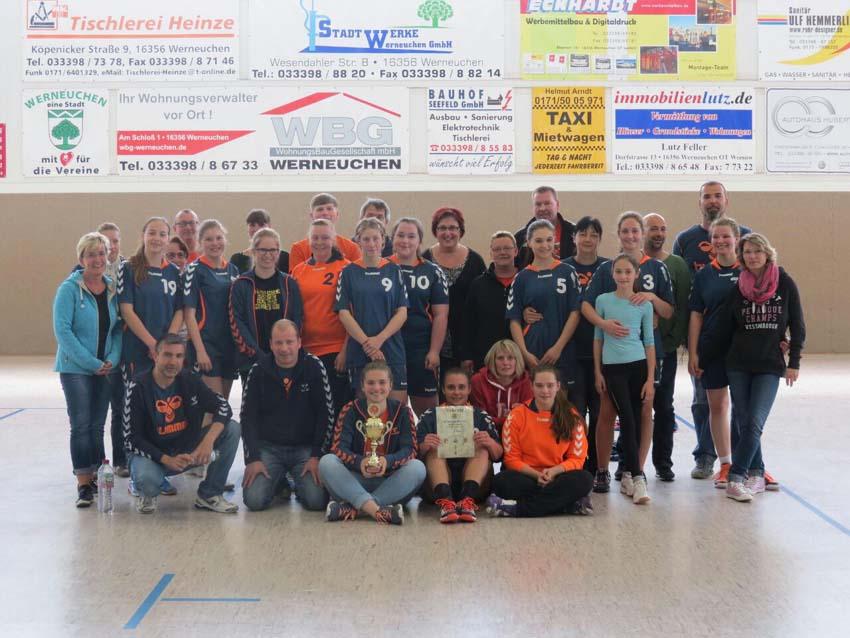 Pokalsieg 2015 B-Jugend