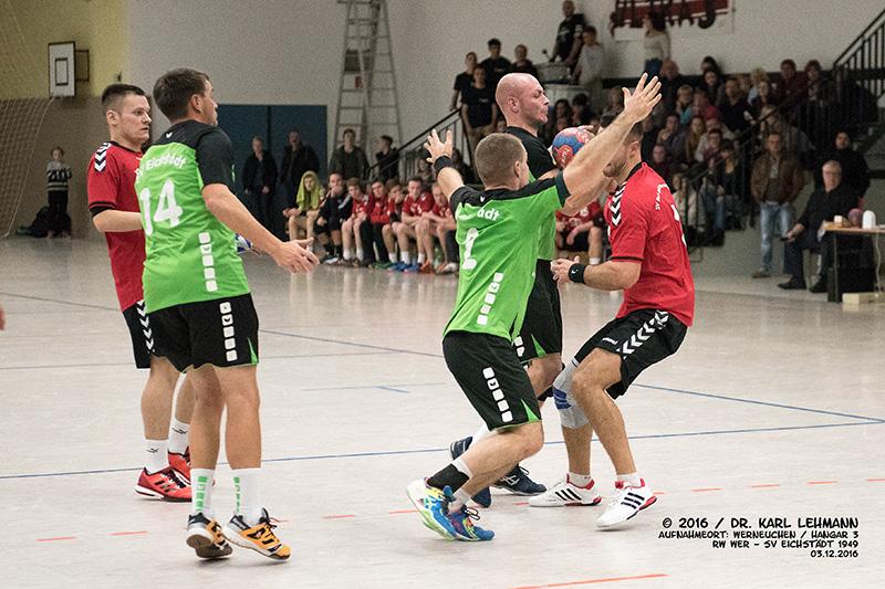 Handball Punktspiel RW WER_SV Eichstädt