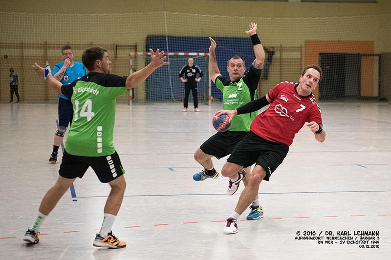 Handball Punktspiel RW WER-