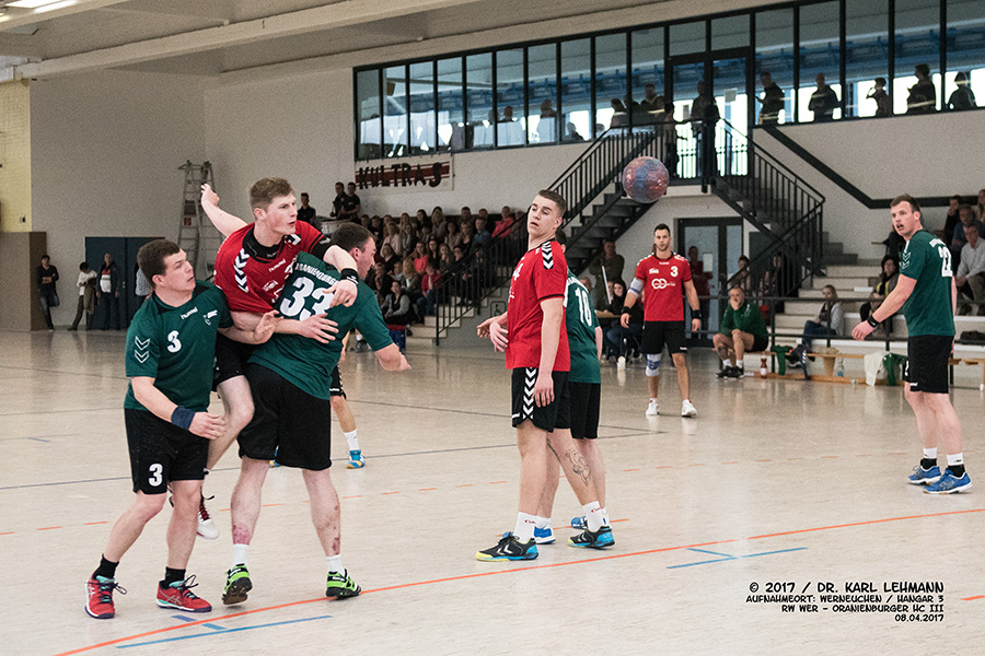 Handball Maenner RW WER_SV Eberswalde II
