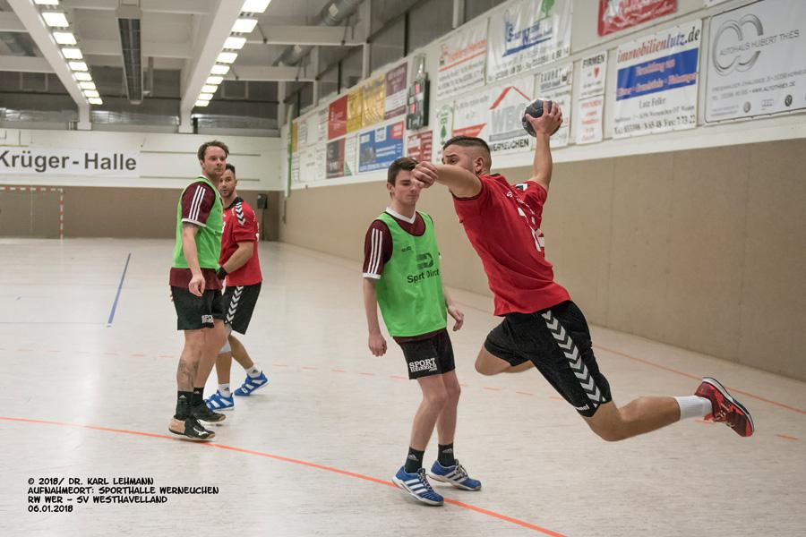 Handball-Punktspiel RW WER_SV Westhavelland