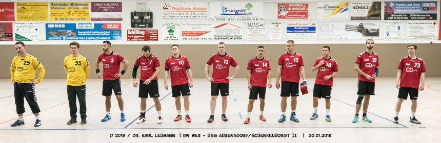 Beitragsbild RW WER - HSG Ahrensdorf-Schenkenhorst