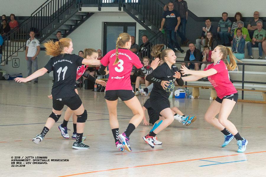 Handball weibl. Jugend C Endrundenturnier