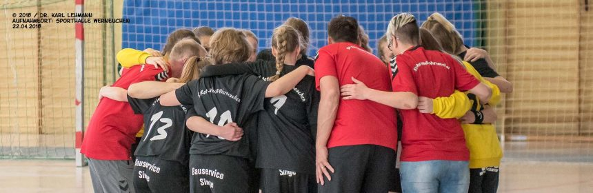 Handball weibl. Jugend-C Endrundenturnier Header