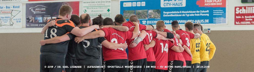 Header RW WER_SV Motor Babelsberg