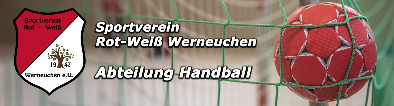 Handball – SV Rot-Weiß Werneuchen e.V.