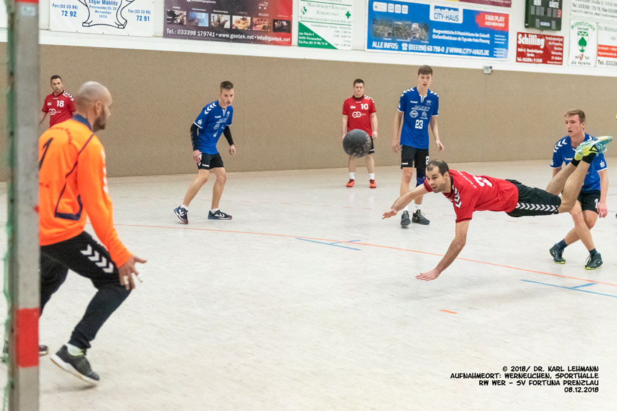 Punktspiel RW WER _ SV Fortuna Prenzlau